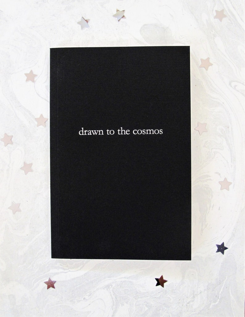 drawn to the cosmos poetry book image 0