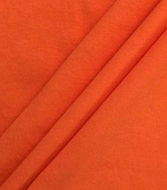 Orange Cotton Fabric - Cotton Material by the Yard - 100% Cotton