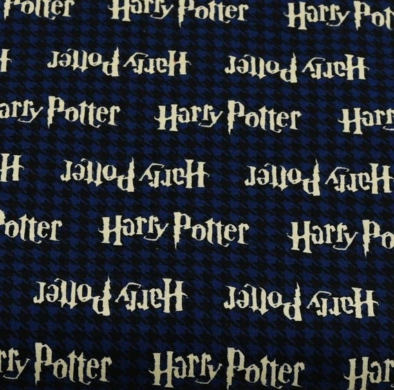Gryffindor Fabric - Hufflepuff Fabric - Harry Potter Gryffindor Fabric - Quilting Cotton Harry Potter Fabric - Ravenclaw Fabric