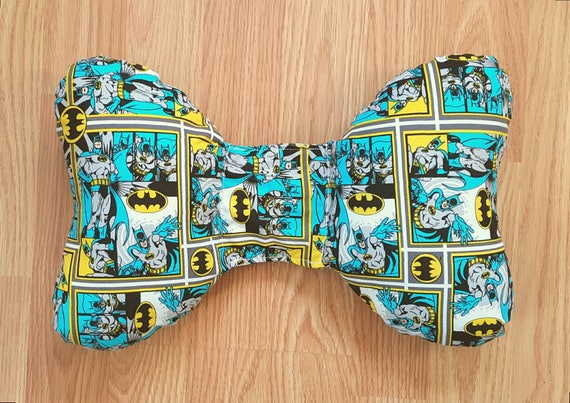 DC Comics Infant Head Support - Torticollis - Positional Plagiocephaly - Elephant Ear - Car Seat Head Support - Unique Baby Shower Gift