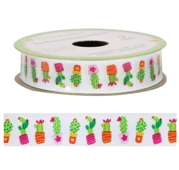 Cactus Floral Ribbon - Cactus Ribbon - Ribbon Blanket Accessories
