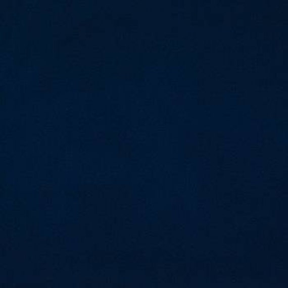 Navy Blue Cotton Fabric - Cotton Material by the Yard - 100% Cotton