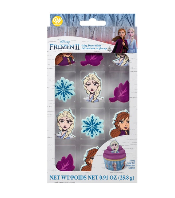 Frozen 2 Edible Cupcake Toppers - Frozen 2 Cake Toppers - Wilton Cake Toppers
