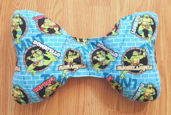 Ninja Turtle Infant Head Support - Torticollis - Positional Plagiocephaly - Elephant Ear Pillow - Car Seat Head Support - Baby Shower Gift