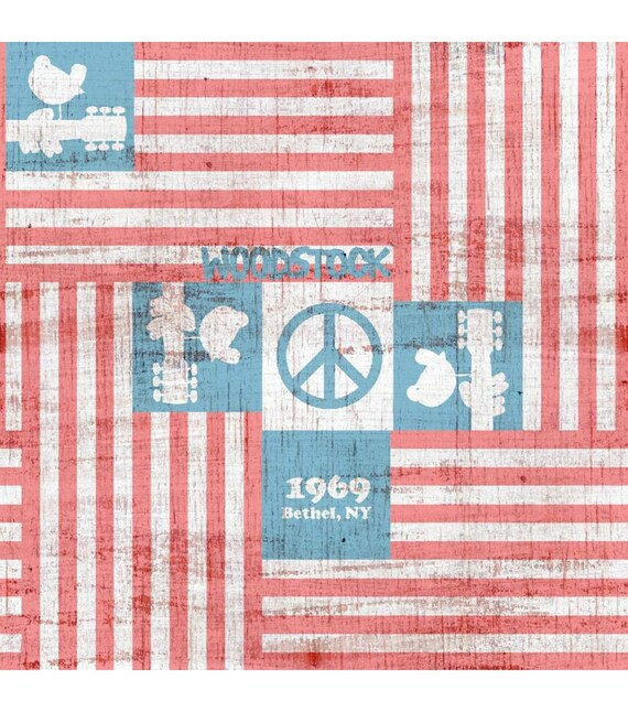 Woodstock Fabric - 1969 Fabric