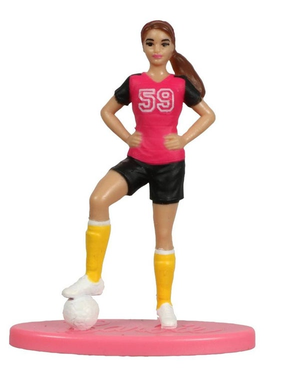 Barbie Cake Toppers - Cupcake Toppers - Barbie Cupcake Toppers - Barbie Cake Decorations - Soccer - Softball - Astronaut - Pop Star - Ballet