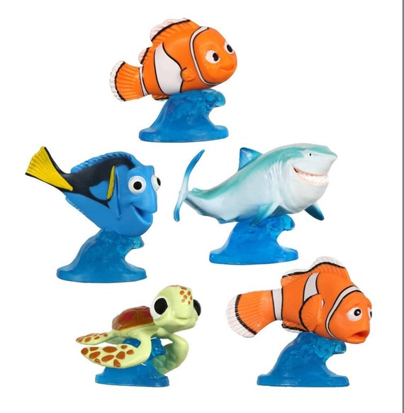 Finding Nemo Cake Toppers - Finding Dory Cupcake Toppers -  Finding Nemo Cupcake Toppers - Finding Nemo Cake Decorations
