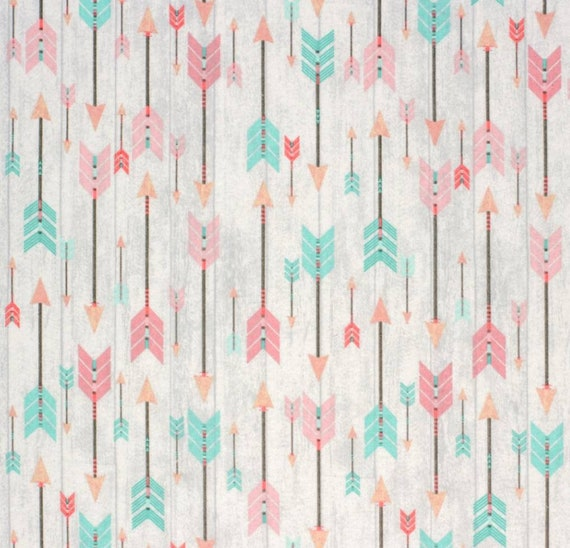 Horses and Cactus Flannel Cotton Fabric - Cowgirl - Rustic Girl Fabric - Heartland Fabric - Spirit Riding Free - Rodeo - Super Snuggle