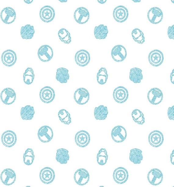 Avengers Swaddle Fabric - Double Gauze - Iron Man Swaddle Blanket Fabric - Avengers Swaddle Blanket Fabric