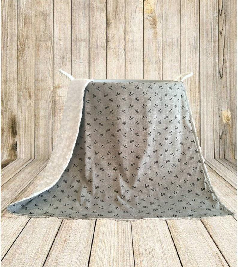 Harry Potter Baby Blanket  Baby Shower Gift Idea  Nursery image 0