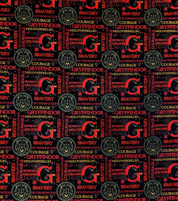Potions Class Fabric - Harry Potter Gryffindor Fabric - Blue Harry Potter Fabric - Quilting Cotton Harry Potter Fabric - Wizard Fabric