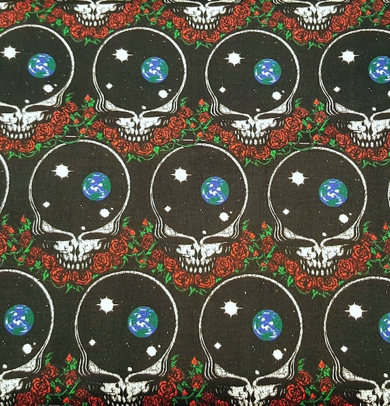 The Ungrateful Dead Fabric - Band Fabric - Woodstock Fabric - 1969 Fabric