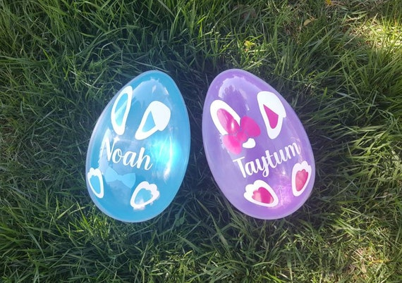 Personalized Easter Egg - Personalized Easter Bunny Egg - Easter Gifts - Jumbo Easter Egg