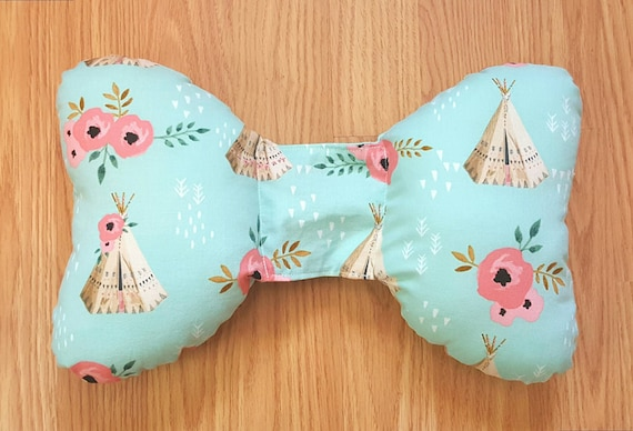 Teepee Infant Head Support - Torticollis - Positional Plagiocephaly - Elephant Ear Pillow - Car Seat Head Support - Infant Body Support