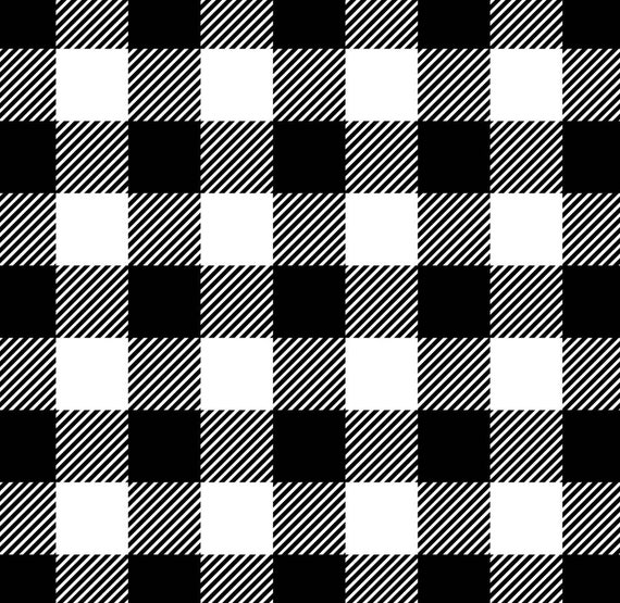 Buffalo Plaid Fabric - Rustic Christmas Fabric - Country Christmas Fabric - Farm House - Red Buffalo Plaid - Black and White Buffalo Plaid