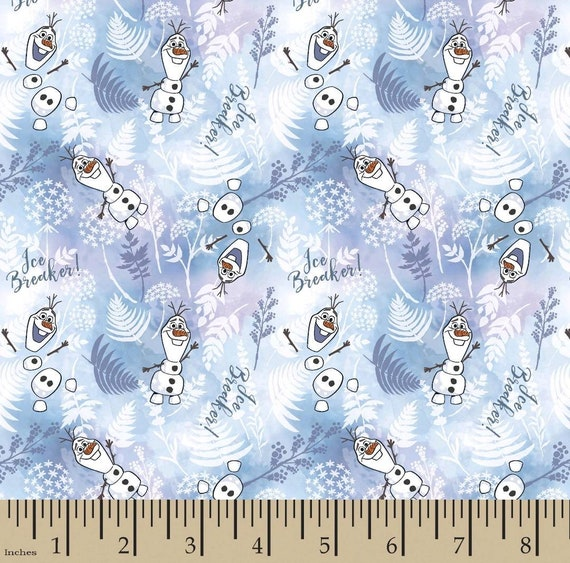 Frozen 2 Fabric - Elsa and Anna - Sven - Christof - Olaf Fabric - Into the Unknown