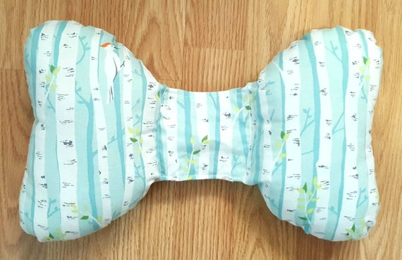 Infant Head Support - Torticollis - Positional Plagiocephaly - Elephant Ear Pillow - Car Seat Head Support - Woodland Baby