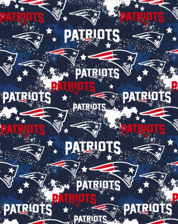 Patriots NFL Fabric