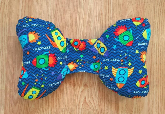 Rocket Infant Head Support - Torticollis - Positional Plagiocephaly - Elephant Ear Pillow - Car Seat Head Support - Baby Shower Gift