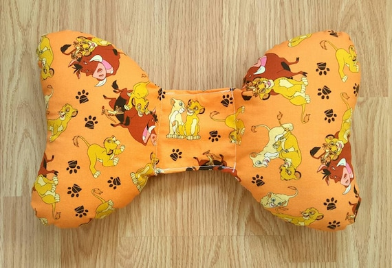 Lion King Infant Head Support - Torticollis - Positional Plagiocephaly - Elephant Ear Pillow - Car Seat Head Support - Baby Shower Gift