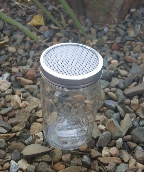 Sprouting Lids - Sprouting Seed Mason Jar Lids - Sprouted Jar Lids - Mason Jar Strainer Lids