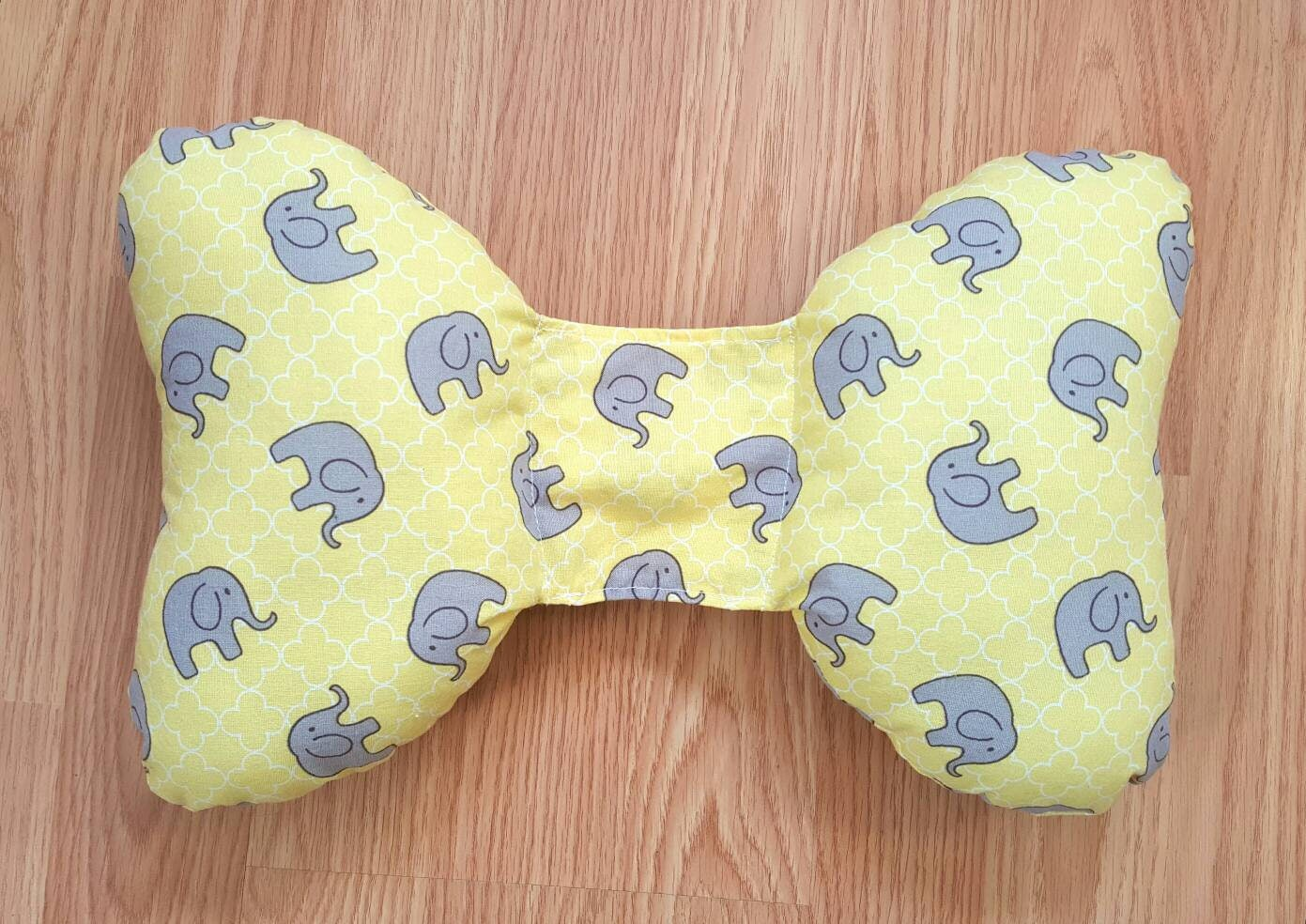 Infant Head Support Torticollis Newborn Car Seat Unique Baby Show Gifts Accessories Elephant Ear Pillow