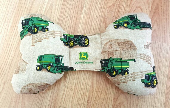 John Deer Infant Head Support - Torticollis - Positional Plagiocephaly - Elephant Ear Pillow - Car Seat Head Support - Baby Shower Gift