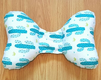 Cactus Infant Head Support - Torticollis - Positional Plagiocephaly - Elephant Ear Pillow - Car Seat Head Support - Baby Shower Gift