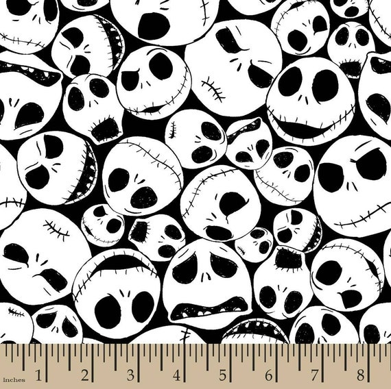 Nightmare Before Christmas Fabric - Nightmare Before Christmas Blanket - Quilting Cotton