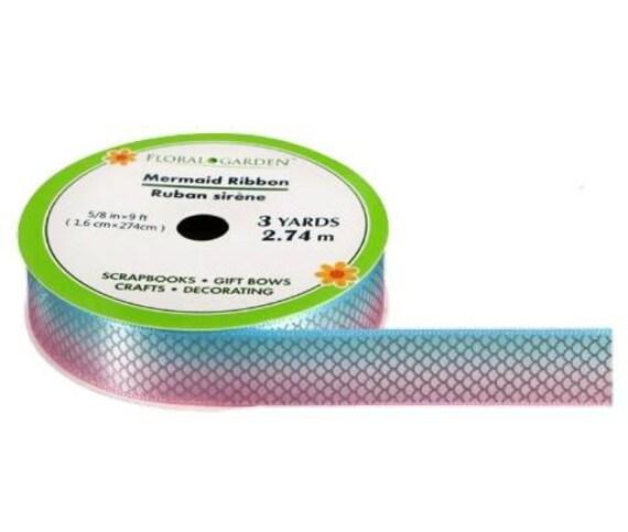 Mermaid Ribbon - Magical Mermaid Ribbon - Rainbow Mermaid Ribbon - Mermaid Scale Ribbon - Ribbon Blanket Accessories