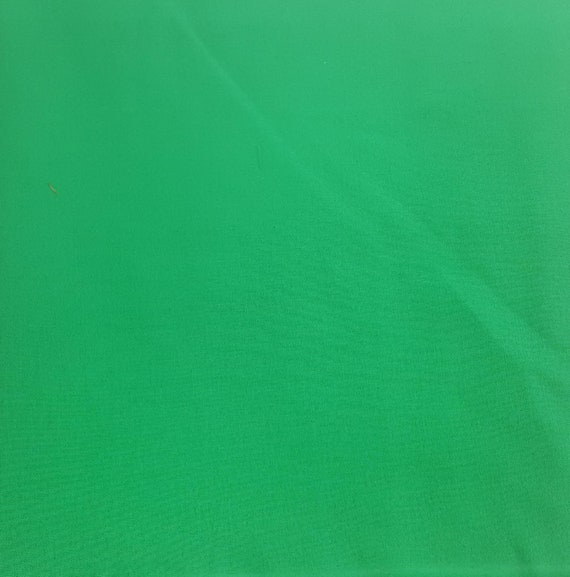 Green Cotton Fabric - Cotton Material by the Yard - 100% Cotton
