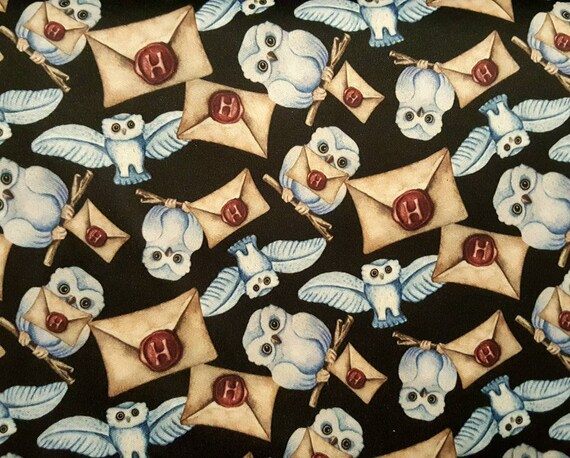 Harry Potter ECO-PUL Fabric by the Yard - Food Safe Fabric - Cloth Diaper Fabric - Solvent-free Laminate