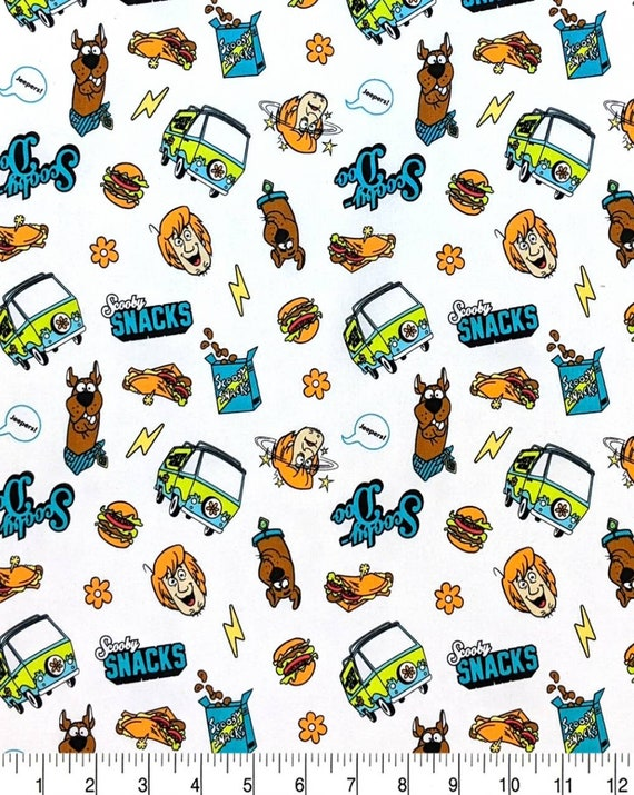 Scooby Doo Fabric - Scooby Fabric