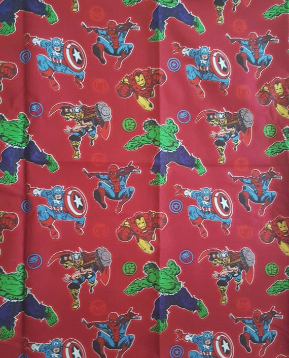 Spiderman Fabric - Far From Home - Homecoming - Iron man - Marvel Fabric