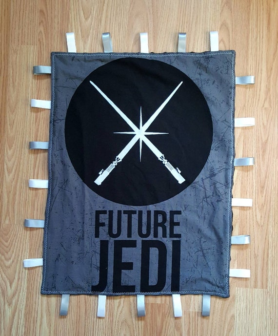 Star Wars Lovey Baby Blanket - Unique Baby Shower Gift Idea - New Mom Gift Idea - Nursery Accessories - Disney Baby - Jedi - Darth Vader