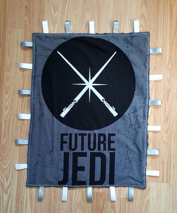 Star Wars Lovey Baby Blanket - Unique Baby Shower Gift Idea - New Mom Gift Idea - Nursery Accessories - Disney Baby - Jedi - Darth Vader