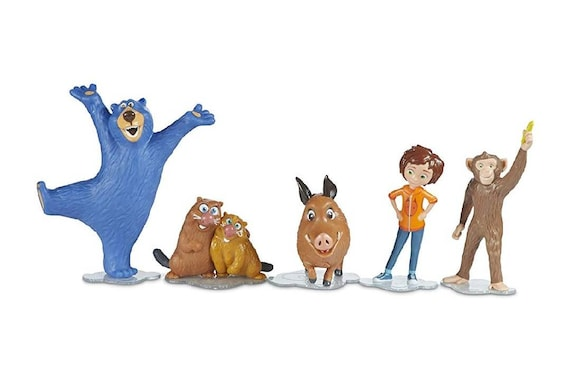 Wonder Park Cake Toppers - Cupcake Toppers - Wonder Park Toppers - Wonder Park Cake Decorations