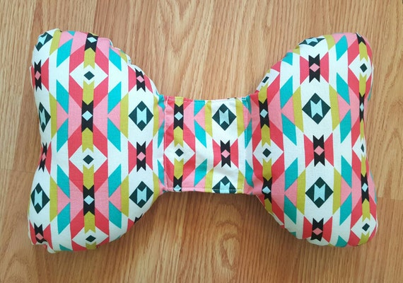Organic Infant Head Support - Torticollis - Positional Plagiocephaly - Elephant Ear Pillow - Car Seat Head Support - Unique Baby Shower Gift