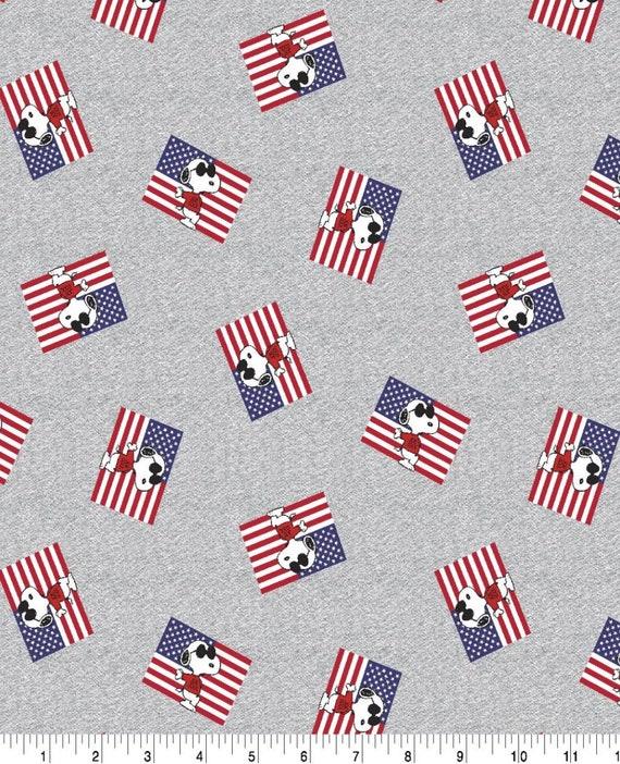 Patriotic Snoopy - American Flag Snoopy - Peanuts - Snoopy Joe Cool