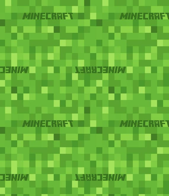 Minecraft Fabric - Game Over - Video Game Fabric - Level Up - Retro