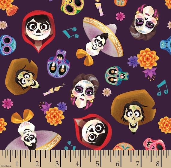Coco Cotton Fabric - Disney Pixar - Fabric by the Yard