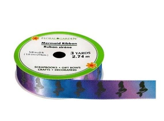 Mermaid Ribbon - Magical Mermaid Ribbon - Rainbow Mermaid Ribbon - Ribbon Blanket Accessories