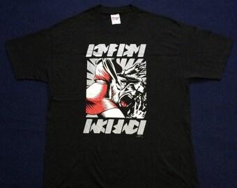 Christmas Sale Vintage KMFDM Industrial Hardcore Punk Rare 90s T shirt 46d29ddf3a42
