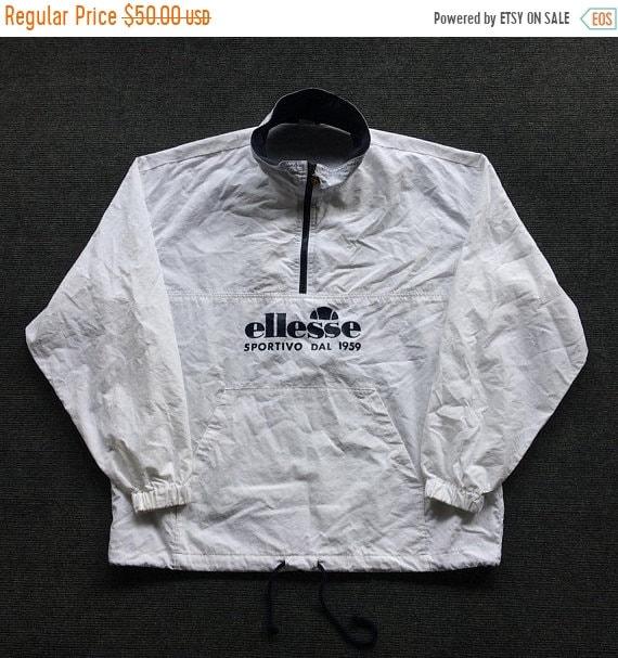 Sale vintage Ellesse sportivo windbreaker made in Japan yiwjuZXNz