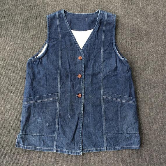 Vintage Jeans Sleeves Workwear 90s Jacket Workwear
