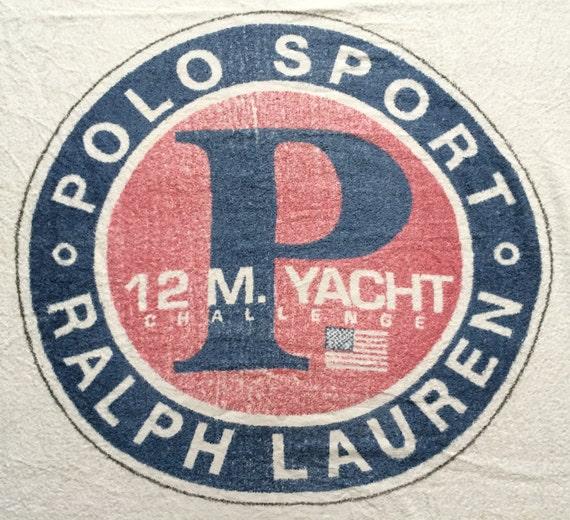 Vintage Polo Ralph Lauren Polo Sport 12 M. Yacht C