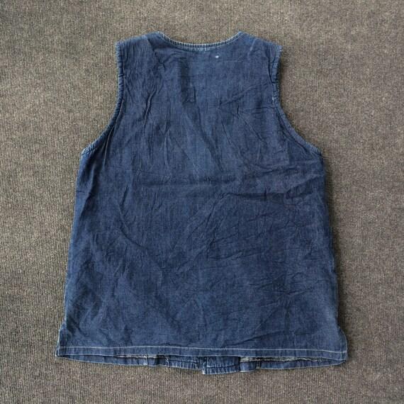 Vintage Jeans Sleeves Workwear 90s Jacket Workwear - image 5