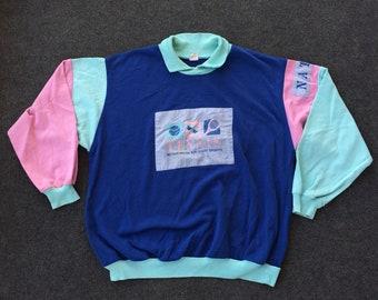 Vintage Tennis Sport 90s Rare Sweatshirt