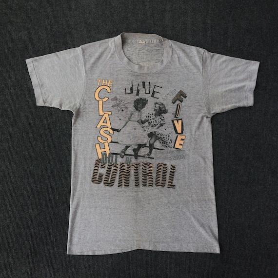 Vintage The Clash Control Paperthin 80s 1984 Tour