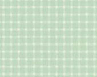 XXS-XXL Mint Green Mini Check Frayed Bandana